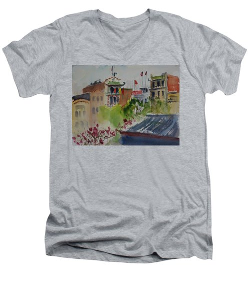 Portsmouth Square1 Men's V-Neck T-Shirt