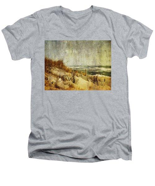 Postcards From Home Men's V-Neck T-Shirt