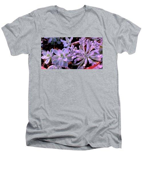 Pot Mates Men's V-Neck T-Shirt by M Diane Bonaparte