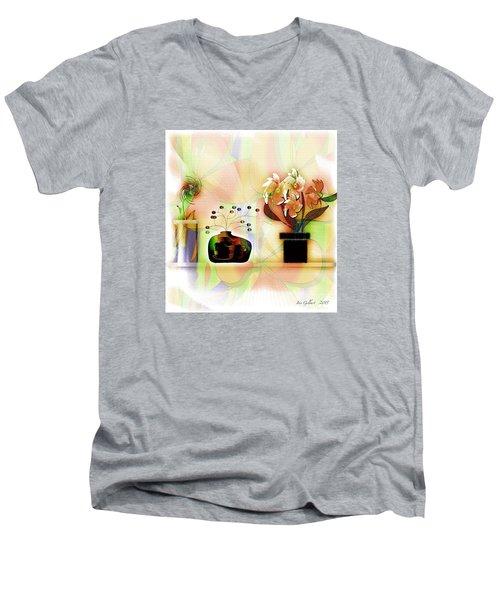 Potted Men's V-Neck T-Shirt