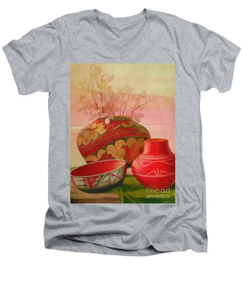 Pottery Men's V-Neck T-Shirt