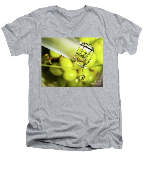 Pour Me Some Vino Men's V-Neck T-Shirt
