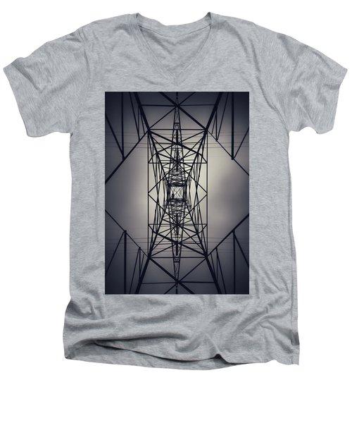 Power Above Men's V-Neck T-Shirt
