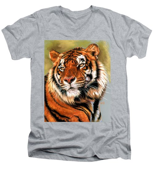 Power And Grace Men's V-Neck T-Shirt