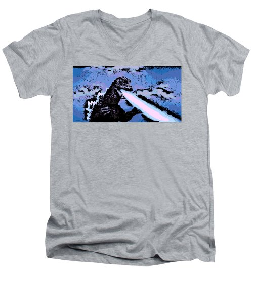 Power Blast Men's V-Neck T-Shirt