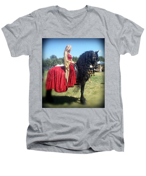 Powerful Beauty Men's V-Neck T-Shirt