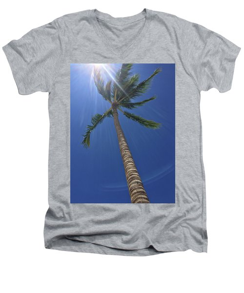 Powerful Palm Men's V-Neck T-Shirt