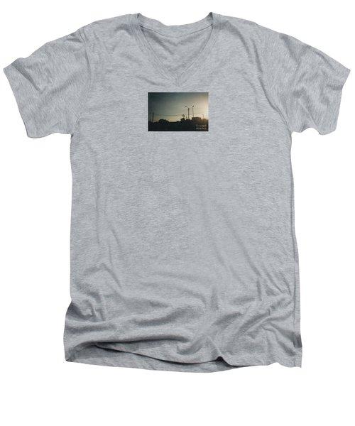 Untitled Street Scene Men's V-Neck T-Shirt