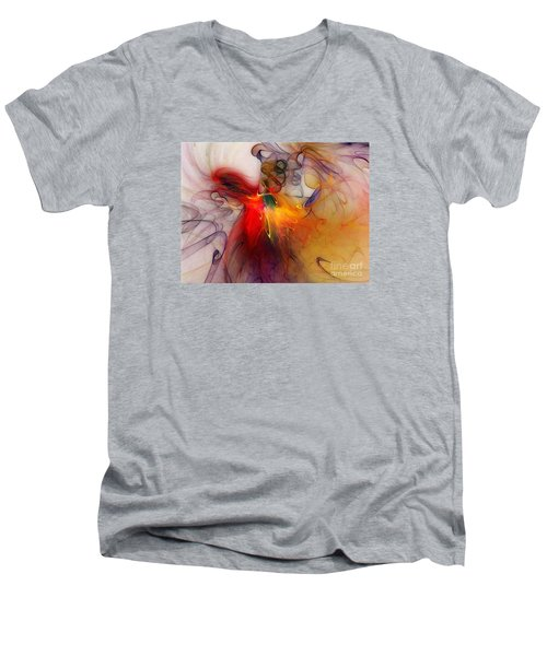 Powers Of Expression Men's V-Neck T-Shirt