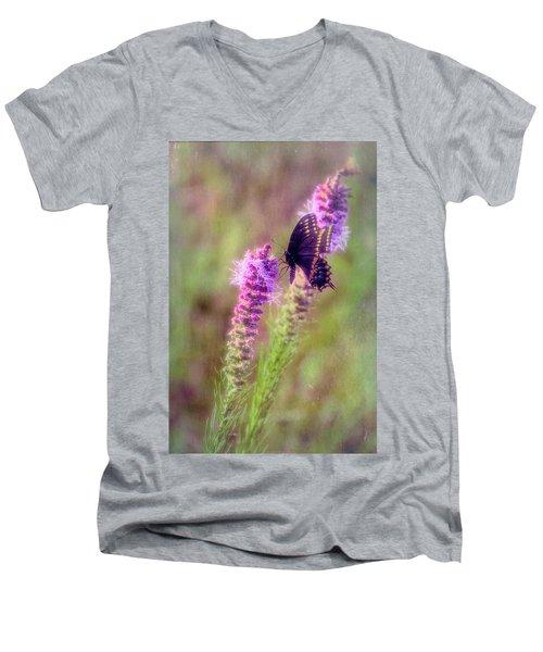 Prairie Butterfly Men's V-Neck T-Shirt