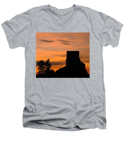 Prairie Dusk Men's V-Neck T-Shirt