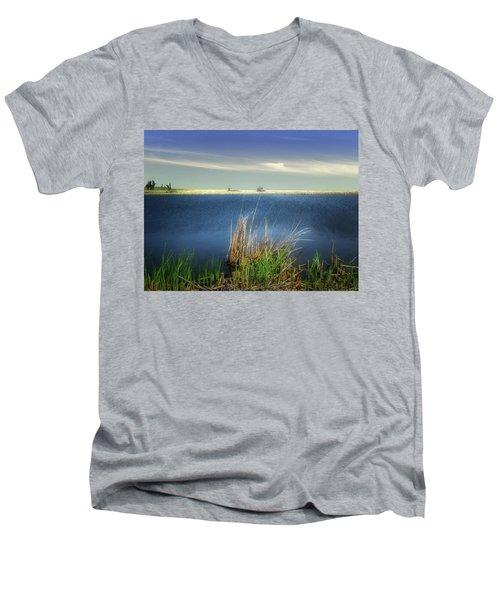 Prairie Lake Men's V-Neck T-Shirt