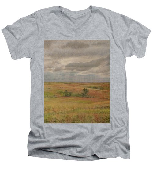 Prairie Light Men's V-Neck T-Shirt