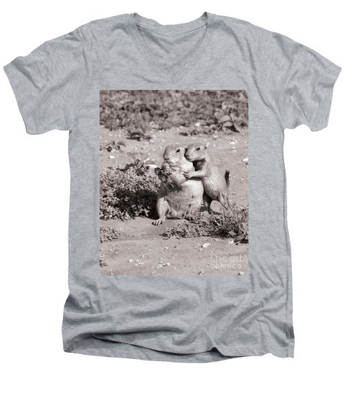 Prairie Love Men's V-Neck T-Shirt