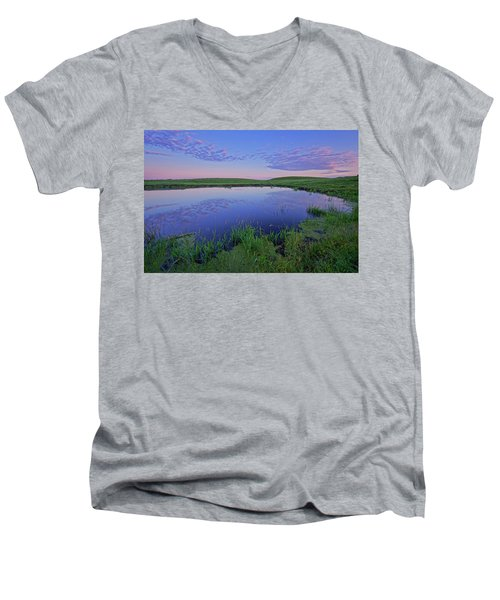 Prairie Reflections Men's V-Neck T-Shirt