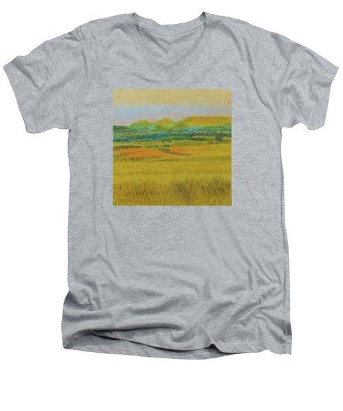 Prairie Reverie Men's V-Neck T-Shirt
