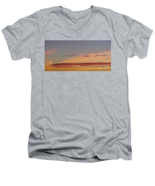Prairie Sunset 2 Men's V-Neck T-Shirt