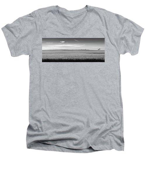 Prairies Men's V-Neck T-Shirt