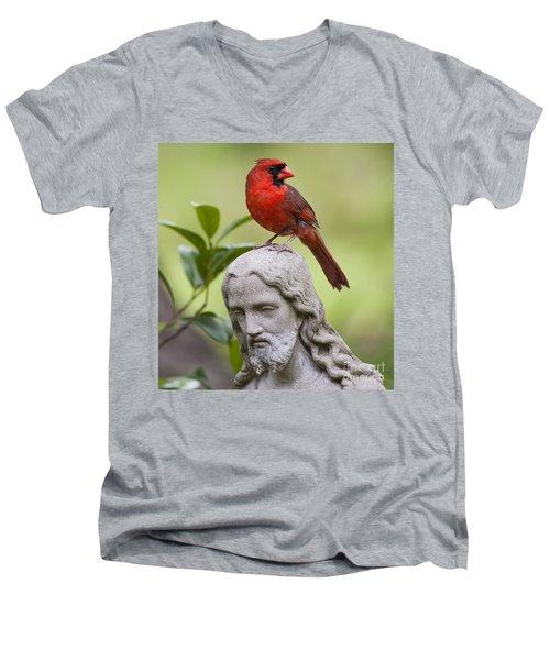 Praise The Lord Men's V-Neck T-Shirt