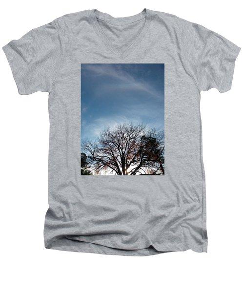 Prayer Works  Men's V-Neck T-Shirt
