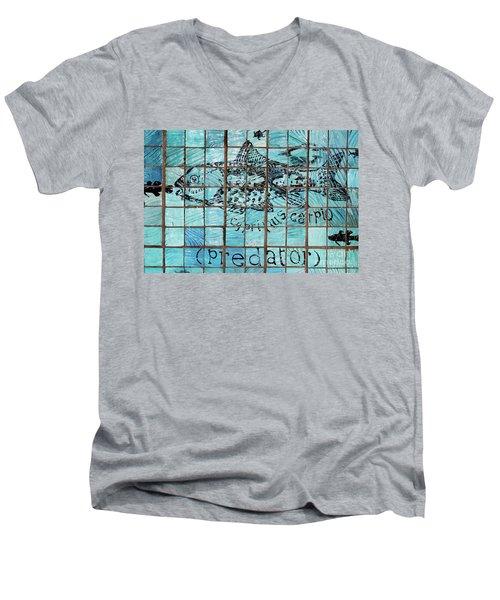 Predatile Men's V-Neck T-Shirt