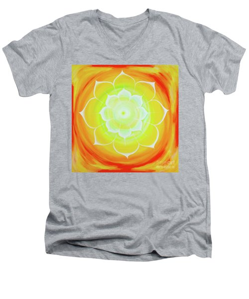 Prem Yantra Men's V-Neck T-Shirt