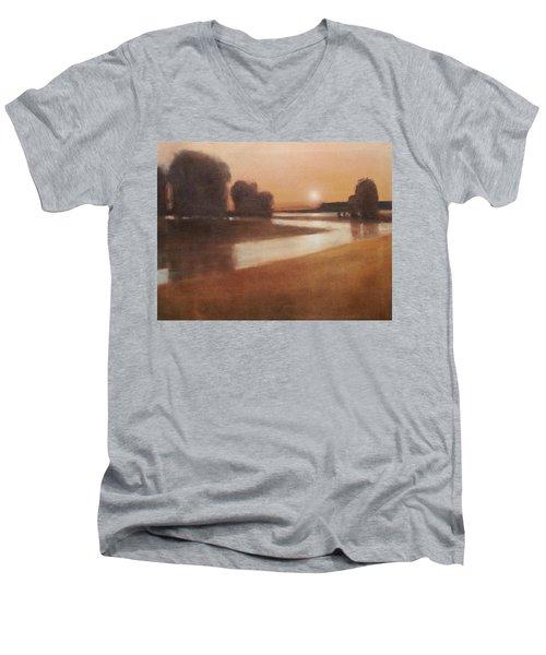 Preston Creek Flood Men's V-Neck T-Shirt