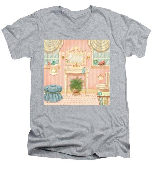 Pretty Bathrooms IIi Men's V-Neck T-Shirt