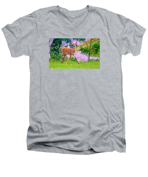 Pretty In Pink 3 Men's V-Neck T-Shirt