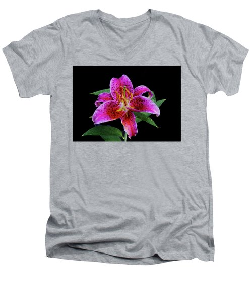 Pretty In Pink Men's V-Neck T-Shirt
