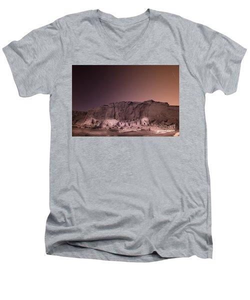 Pretty Village Chaco  Men's V-Neck T-Shirt by William Fields