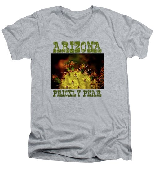 Prickly Pear Spring Men's V-Neck T-Shirt