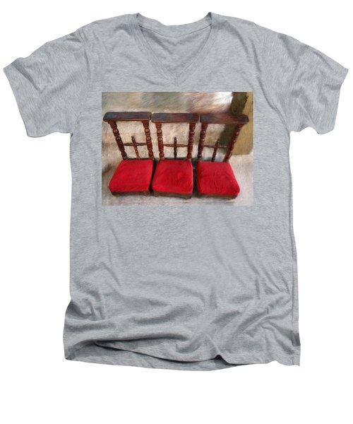 Prie Dieu - Prayer Kneeler Men's V-Neck T-Shirt