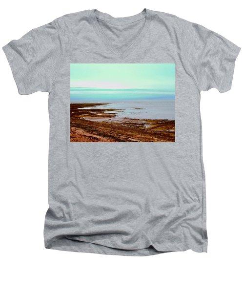Prim Point Beach Men's V-Neck T-Shirt