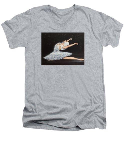 Prima Ballerina Men's V-Neck T-Shirt