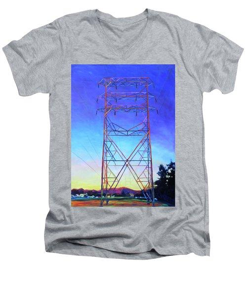 Prima Donna Men's V-Neck T-Shirt by Bonnie Lambert