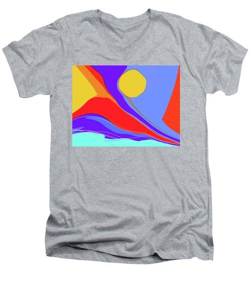 Primarily Men's V-Neck T-Shirt