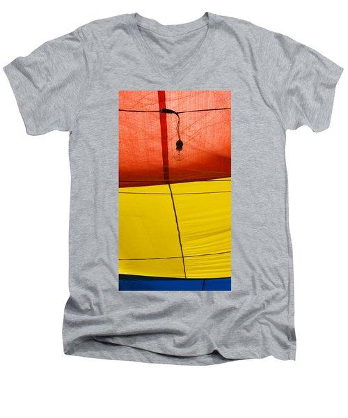 Primary Light Men's V-Neck T-Shirt
