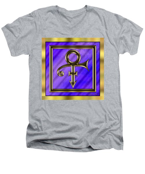 Prince  Men's V-Neck T-Shirt