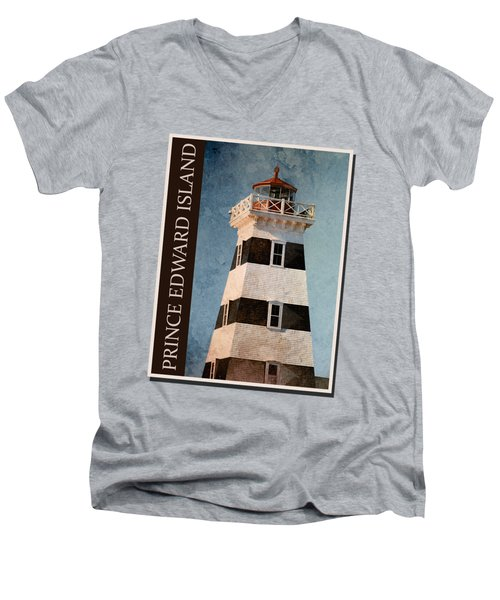 Prince Edward Island Shirt Men's V-Neck T-Shirt