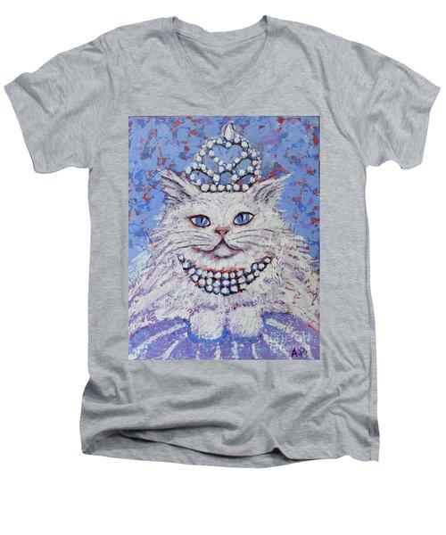 Princess Pussy Cat Men's V-Neck T-Shirt