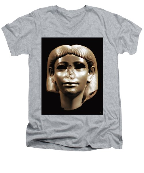 Princess Sphinx Men's V-Neck T-Shirt