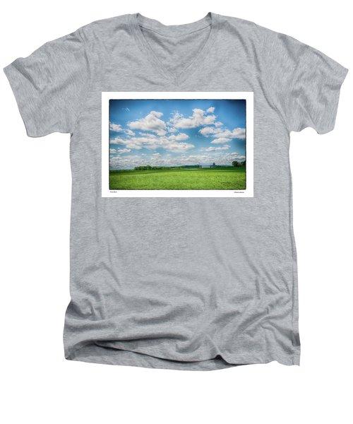 Prison Barn Men's V-Neck T-Shirt