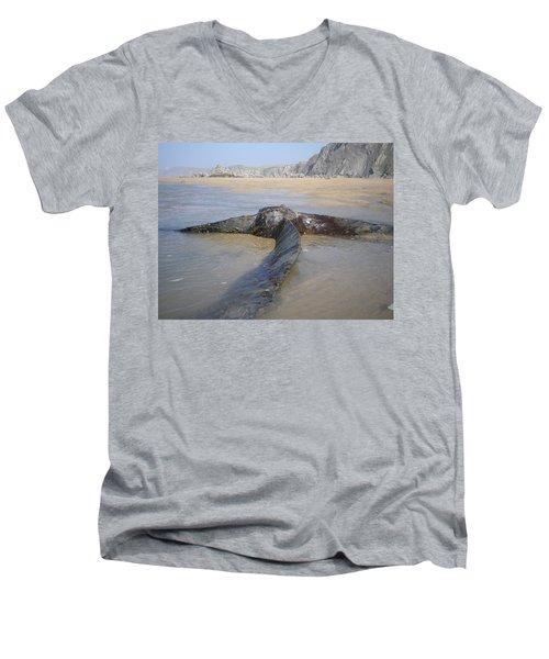 Propeller Steamship Belem Shipwreck Men's V-Neck T-Shirt