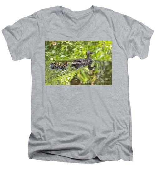 Proud Mama Men's V-Neck T-Shirt