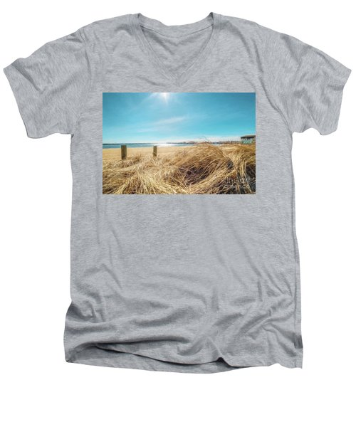 Provincetown Harbor Men's V-Neck T-Shirt