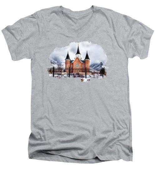 Provo City Center Temple Men's V-Neck T-Shirt
