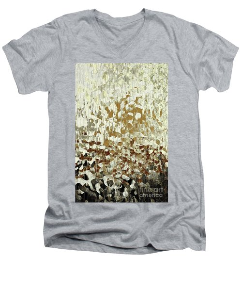 Psalm 37-39. My Comfort From Above Men's V-Neck T-Shirt