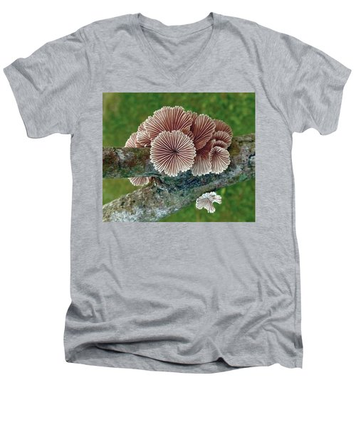 Psychedelichen Men's V-Neck T-Shirt
