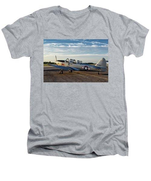 Pt-26 Sunrise Men's V-Neck T-Shirt